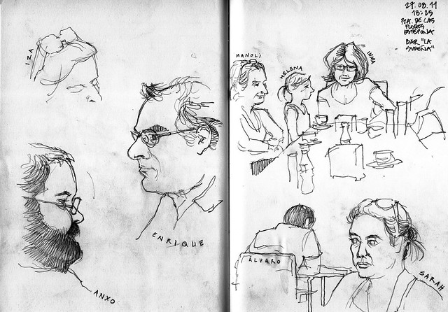 Portraits of sketchers