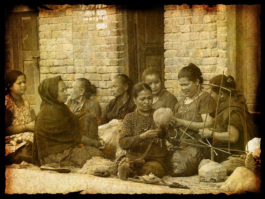 Бхактапур. Непал 2008 - Катманду, Пашупатинатх, Покхара, Боднатх, Горкха © Kartzon Dream - авторские путешествия