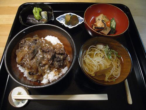 松山地区の大和牛の丼のお店『件‐kudan‐』@宇陀市