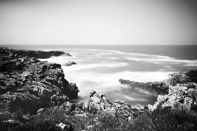 Wild seas calmed down