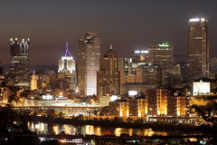 night in Pittsburgh