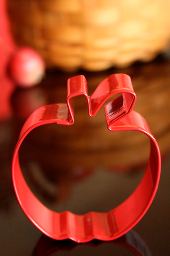 Apple Cookie Cutter.