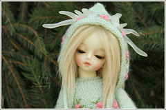 Dolly (Maram Banu) Tags: flowers green md bjd soom dolomi teeniegem fairystyle marambanu