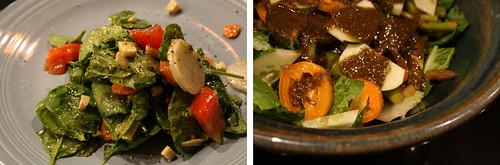 Salad with Pesto