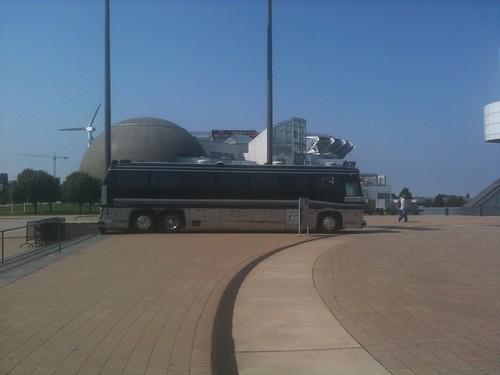 El tour bus de Johnny Cash