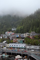 Ketchikan, Alaska (blmiers2) Tags: travel trees mist green fog alaska clouds boats nikon ketchikan d3100 blm18 blmiers2