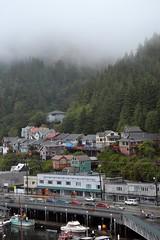 Ketchikan, Alaska (blmiers2) Tags: travel trees mist green fog alaska clouds boats nikon ketchikan d3100 blm18 blmiers2