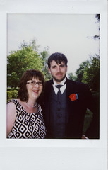 Ula-Greg Wedding (Instax Mini): Grown ups (smohundro) Tags: wedding film palaisdejustice quebec longueuil ardin instantfilm fujiinstaxmini instaxmini leatha instaxminiinstantcolorfilm