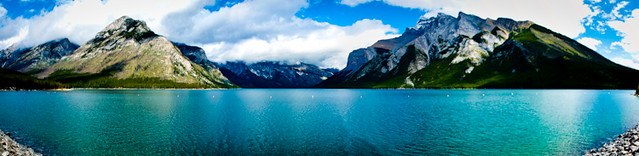 Lago Minnewanka, por @drobles