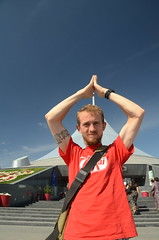 Norman Foster's Astana Tent (Jamie Kitson) Tags: kazakhstan astana geekout mongolrally jamiekitson mongolrally2011 teamgeekout geotaggedfromlatitude