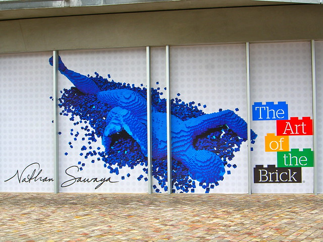 The Art of the Brick Exhibition