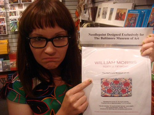 William Morris Cross Stitch?!?!