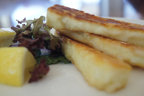 halloumi recipes  - fried cheese