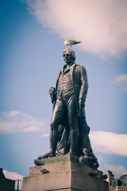 Robert Burns, George Square