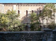 Monestir de Sant Pere de Galligants, Gerona, exterior nave wall