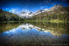 Marsh Lake #3 (Bob Bowman Photography) Tags: trees lake snow mountains reflection water grass clouds canon john rocks glacier clear granite sierras muir littlelakesvalley marshlake colorphotoaward micarttttworldphotographyawards micartttt rmbimages wildernesscaliforniahigh masterclasselite michaelchee