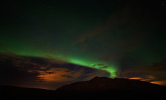 orbjrn (Jn skar.) Tags: mountains night iceland aurora sland reykjanes northernlights fjll norurljs auroraborialis colorphotoaward orbjrn