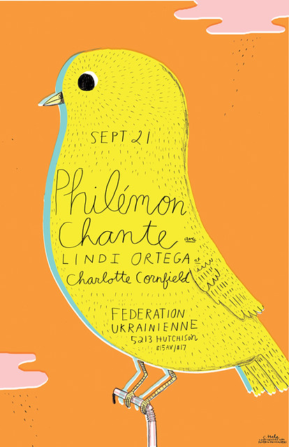 PHILEMON CHANTE poster