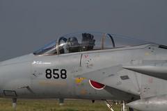 三沢基地航空祭2011 地上展示機と帰投