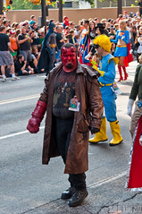 Hellboy (King_of_Games) Tags: atlanta cosplay parade hellboy dragoncon willking willbking dragoncon2011