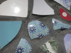 Detail (de Muur van Geluk) Tags: denbosch shertogenbosch muur scherven geluk demuurvangeluk mozaïek