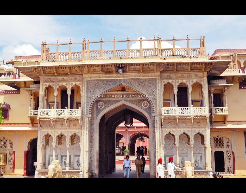 Interior City Palace Chandra Mahal