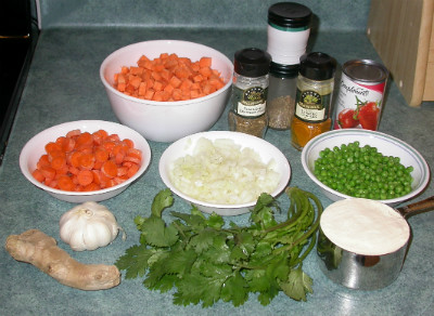 Pakora Ingredients