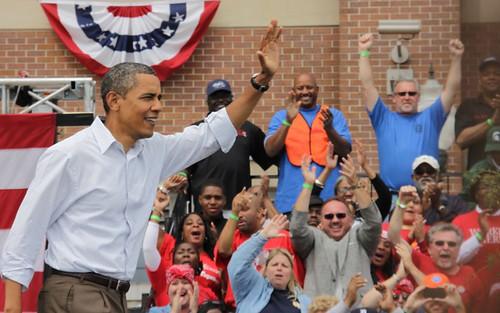 Obama in Detroit