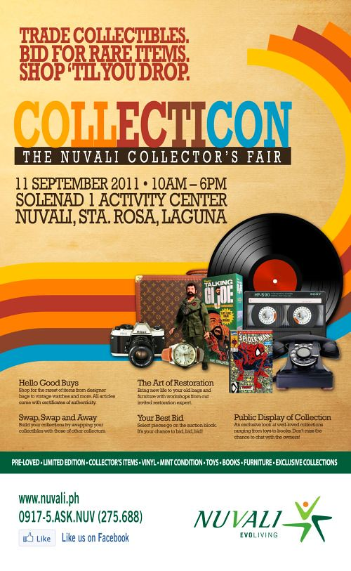 Collecticon at Nuvali