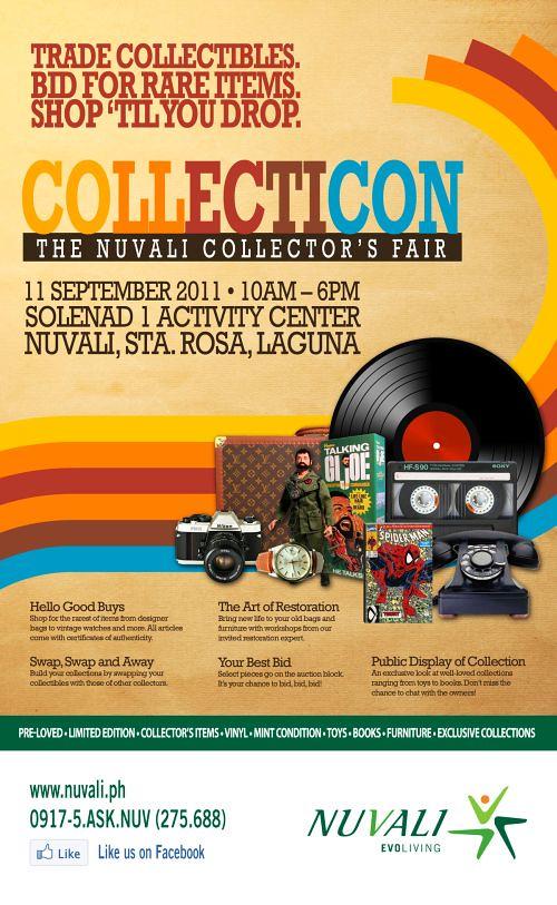 Collecticon at Nuvali