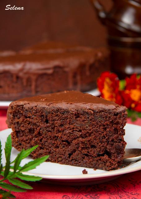 шоколадный пирог с кабачком2