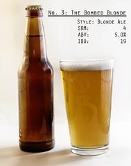 No. 3: Blonde (gacrichards) Tags: beer brewing ale alcohol blonde homebrew brew strobe beerglass productphotography beerstyles nikond7000 stylebeer bondeale alebrewing coloradohomebrew coloradohomebrewers