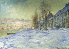Claude Monet - Lavacourt under the Snow, 1881 at the National Gallery London England (mbell1975) Tags: city ireland england dublin irish snow london art museum painting french europe gallery museu hugh fine under arts musée musee m national monet lane gb impressionism claude museo impression impressionist muzeum finearts the beaux beauxarts müze gallerie 1881 lavacourt museumuseum