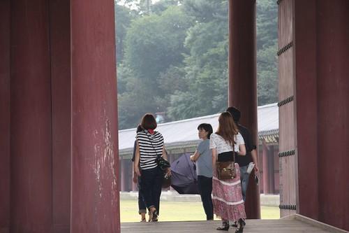 小雨降るなかを・・・・昌徳宮 / Changdeokgung