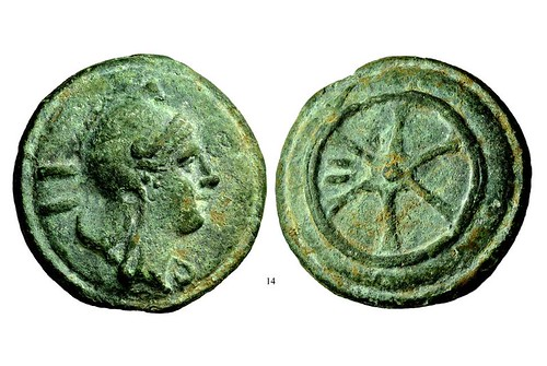 Roman republican coin