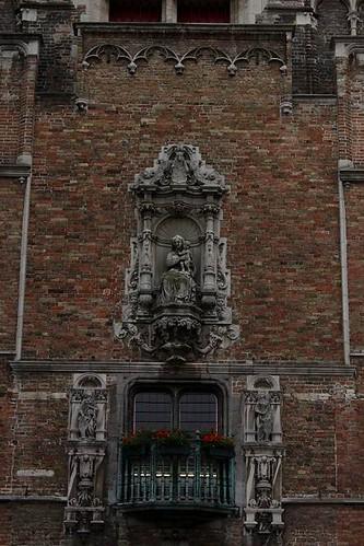 Beautiful decoration on facade