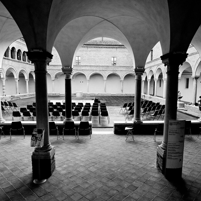 Le concert n'est pas commence encore Ravenne Les coitre de San Francesco