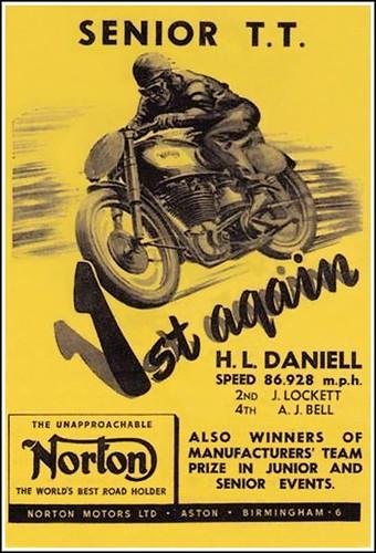 1949 IOM TT Norton Wins Again! by bullittmcqueen
