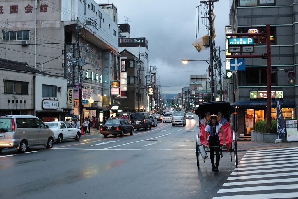 Higashi Oji Dori, Kyoto