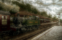Bewdley station. (runman555) Tags: train niceshot steam wow1 mygearandme mygearandmepremium mygearandmebronze mygearandmesilver mygearandmegold m