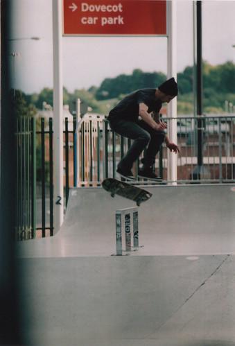 Marcin Barhji - Fakie Flip into Lipslide @ High Wycombe