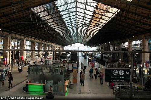 Gare du Nord - Platforms