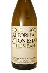2002 Ridge Lytton Estate Petite Sirah