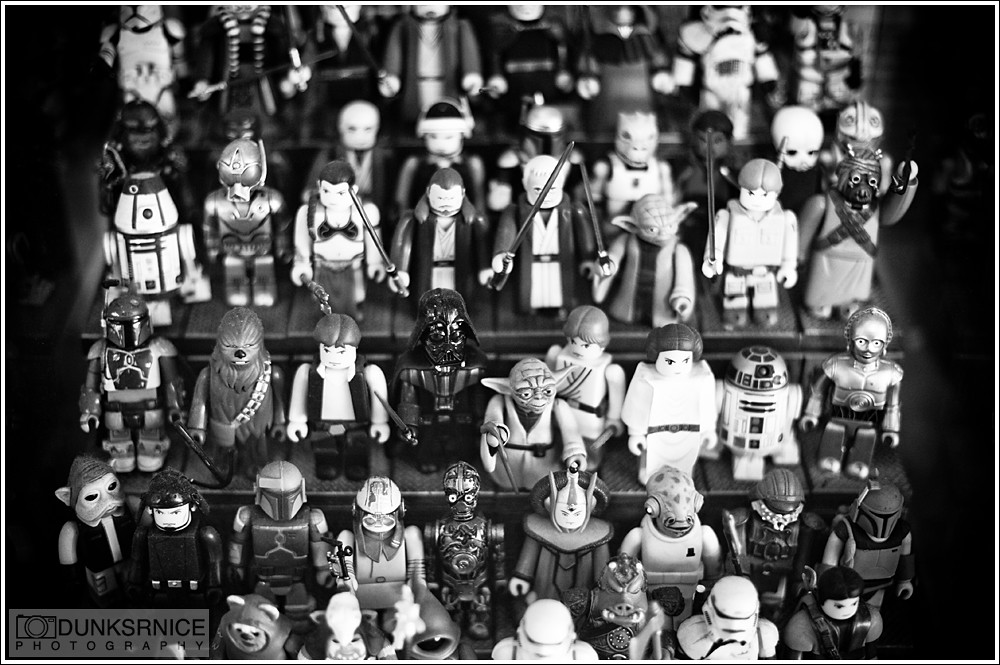 Star Wars, B&W.