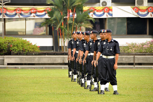 Soldiers training (KL)