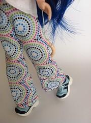 Blythe pants - Retro Print