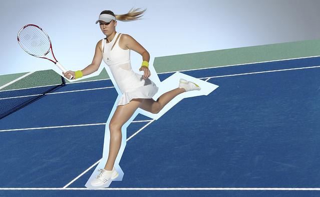 2011 US Open: Caroline Wozniacki adidas outfit