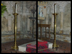 Relics From St John's Church Gainsborough (LincsRanger64) Tags: church minster stow stmarys candelabras stowminster