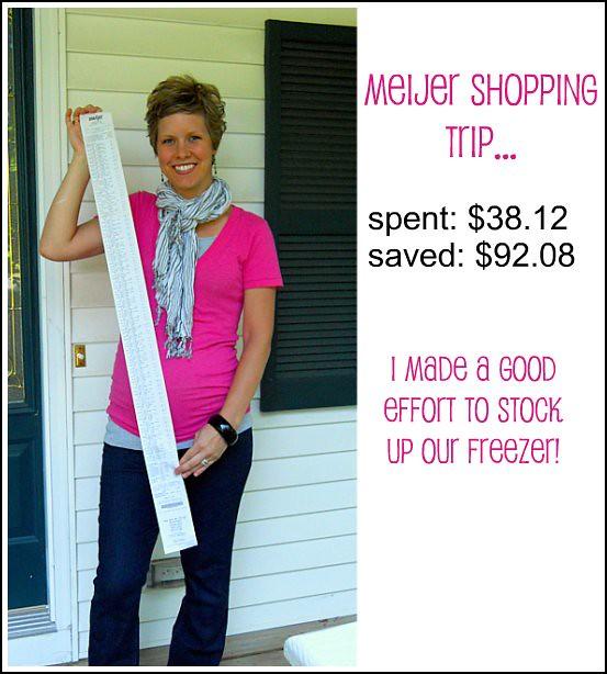 old grocery savings