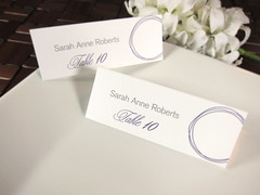 Young Baroque - Place Cards (theLoveFont) Tags: wedding beautiful modern circles formal save invitation weddings date script suite custom invites classy elegance